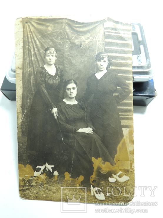 Фото открытки 5шт Сочи Крым Ласточкино гнездо девушки 1950е годы, фото №11