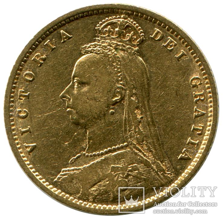 1/2 Соверена 1892г. Великобритания