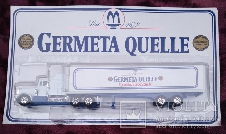 Модель  грузового автомобиля. с рекламой., фото №2