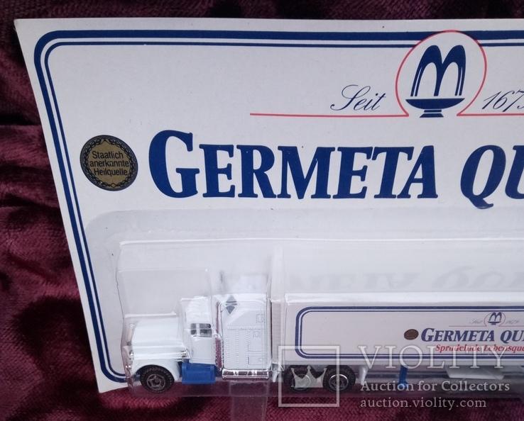 Модель  грузового автомобиля. с рекламой., фото №3