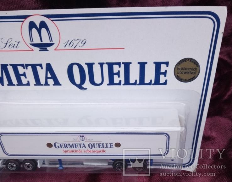 Модель  грузового автомобиля. с рекламой., фото №4