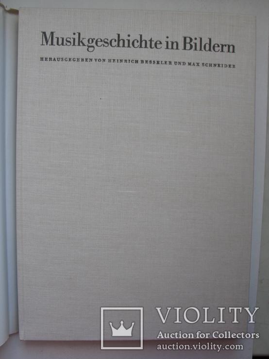"""""""История музыки в картинках . Америка"""" 1967 год (на немецком), фото №3"""