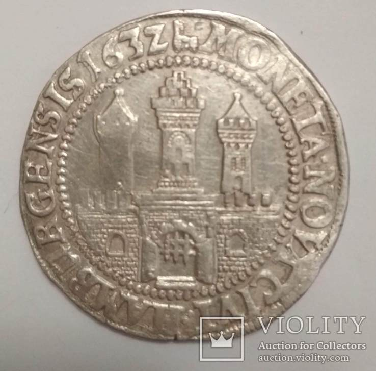 Талер Гамбург 1632