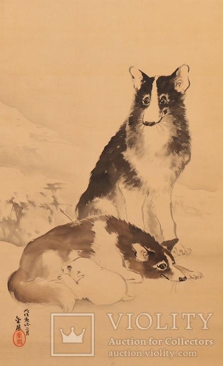Мочизуки Кимпо(1846-1915г), Япония.