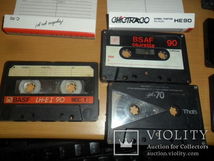 Аудиокассета кассета Basf That s Bsaf NDK и т.д. - 8 шт в лоте, фото №4