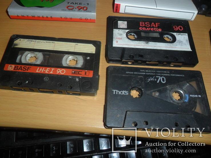 Аудиокассета кассета Basf That s Bsaf NDK и т.д. - 8 шт в лоте, фото №6