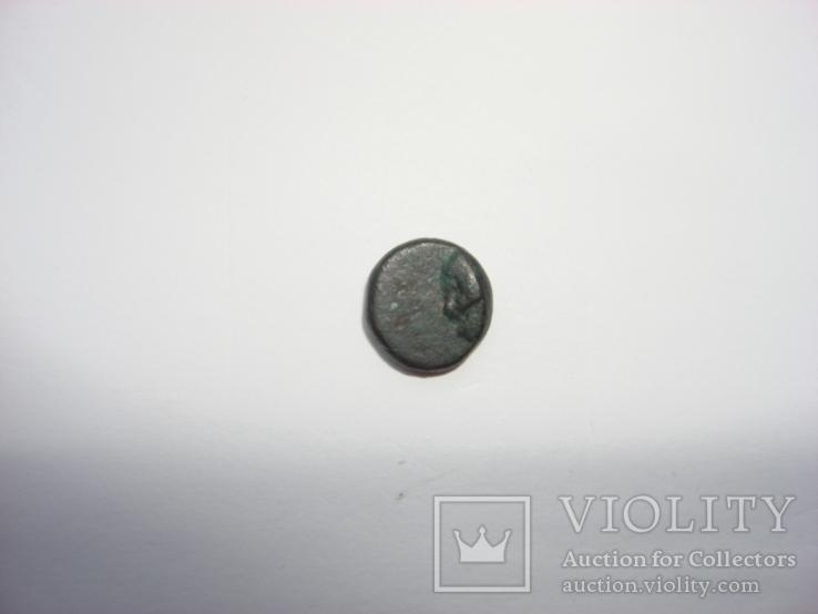 Пантикапей Боспор №140+ Аполлон/дельфин вправо дихалк, фото №5