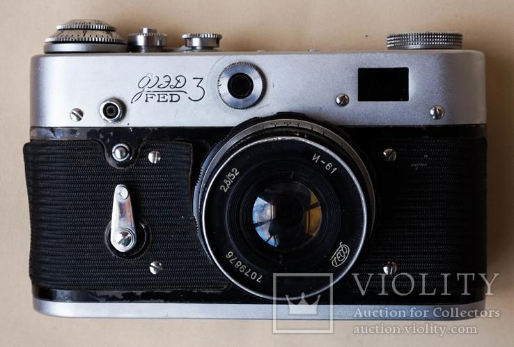 Фотоаппарат Фэд - 3, фото №9