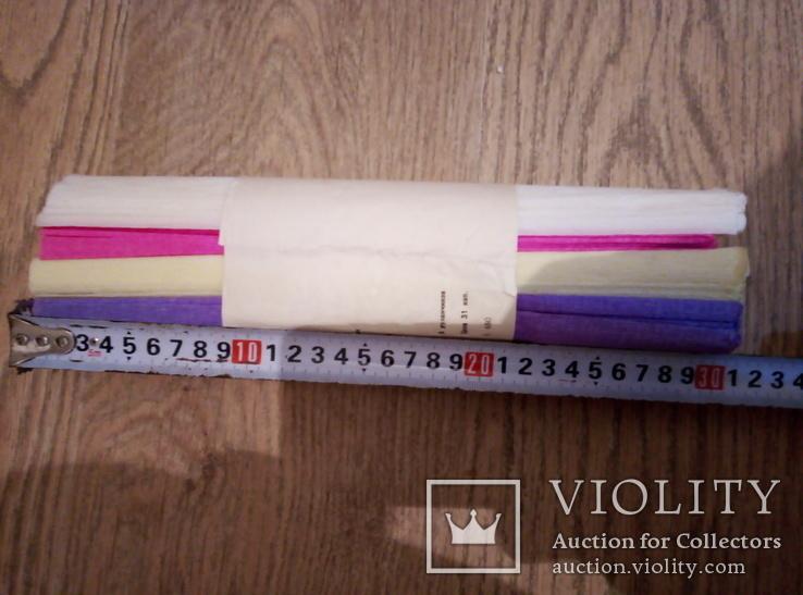 Набор крепированной декоративной бумаги, фото №6
