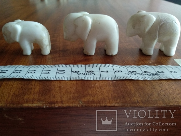 Фигурки три слона, фото №10