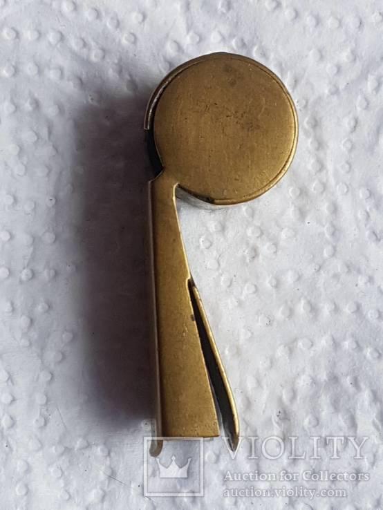 Бронзовый свисток Румыния старый, фото №7