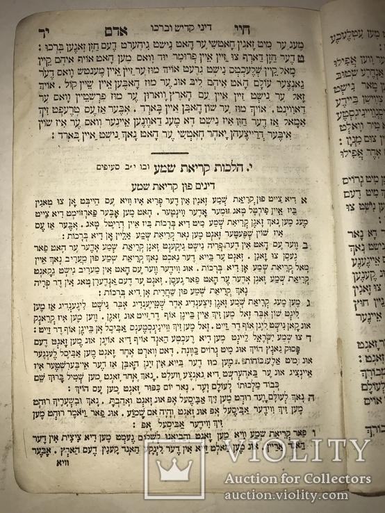 1867 Иудаика Сочинение Раввина Хай Адам, фото №8