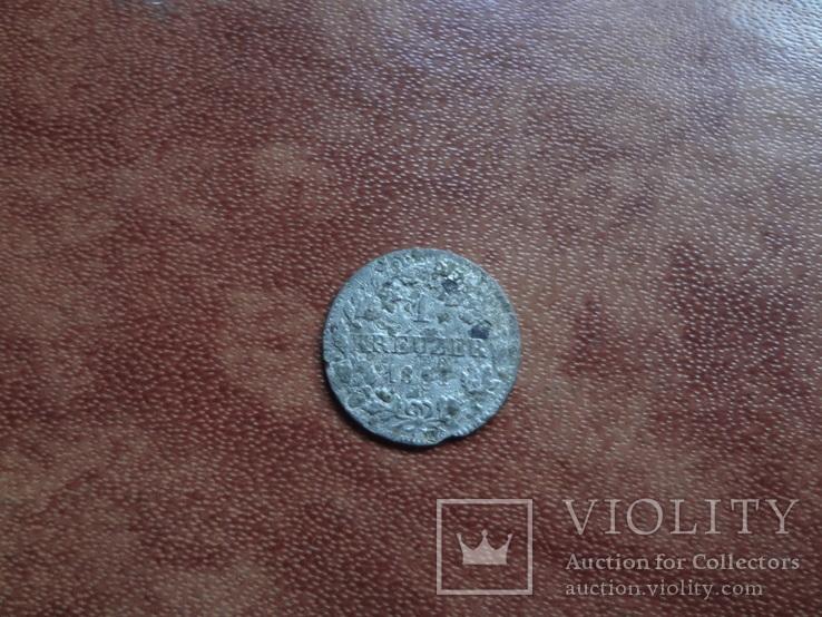 1 крейцер 1851 Бавария  серебро     (М.1.3)~, фото №5