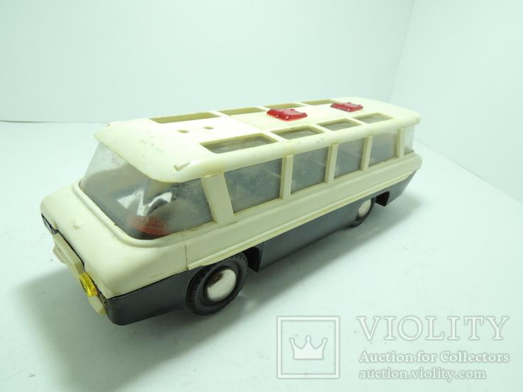 Модель игрушка Автобус Салют ГАЗ (ЗИЛ) 118 Юность 60е годы, фото №2