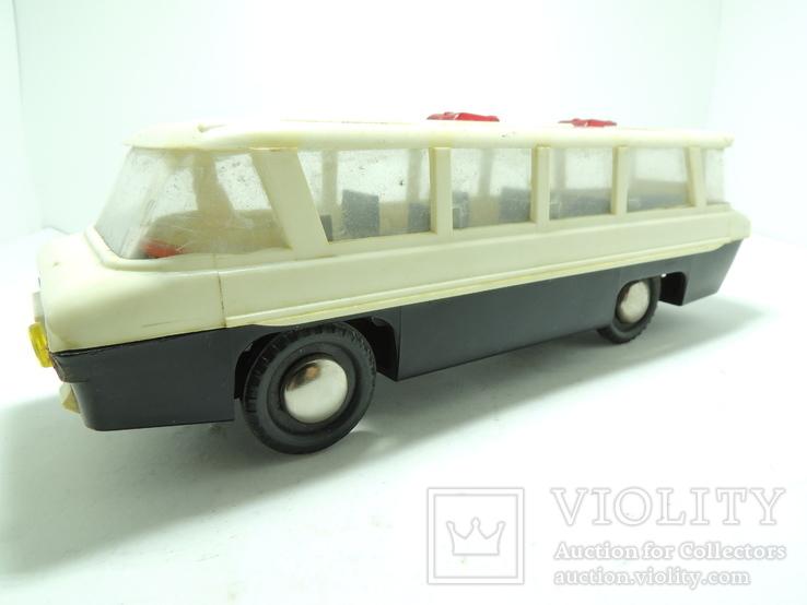 Модель игрушка Автобус Салют ГАЗ (ЗИЛ) 118 Юность 60е годы, фото №3