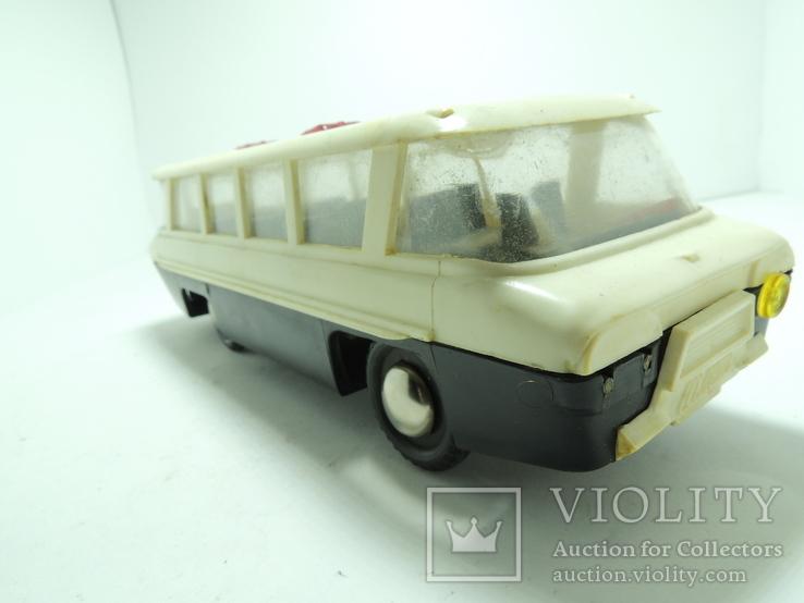 Модель игрушка Автобус Салют ГАЗ (ЗИЛ) 118 Юность 60е годы, фото №6
