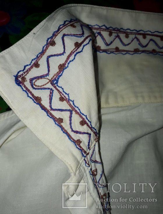 Рубашка вышыта мужская, фото №3
