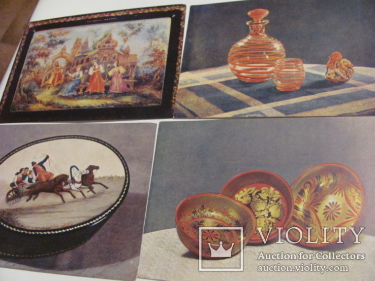 Народные художественные промыслы 20 открыток, фото №4