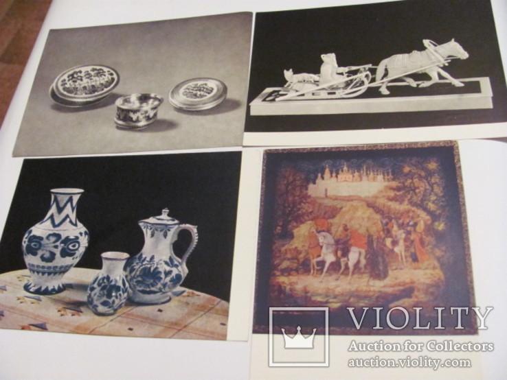 Народные художественные промыслы 20 открыток, фото №8