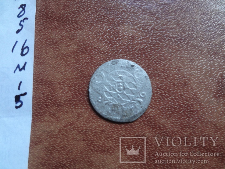 1 крейцер 1755  Бавария  серебро   (М.1.5)~, фото №5