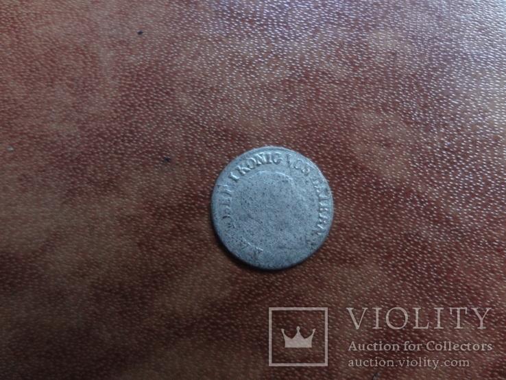 1 крейцер 1821   Бавария  серебро   (М.2.10)~, фото №6