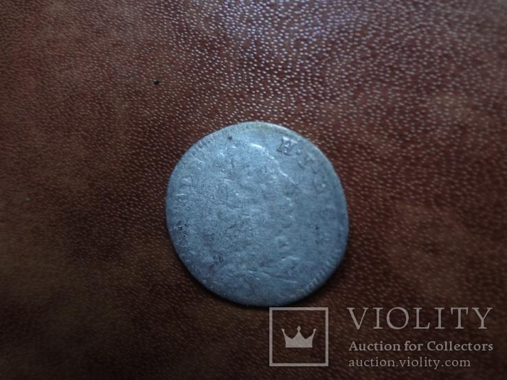 3 крейцера  1733   Бавария  серебро   (М.2.34)~, фото №3