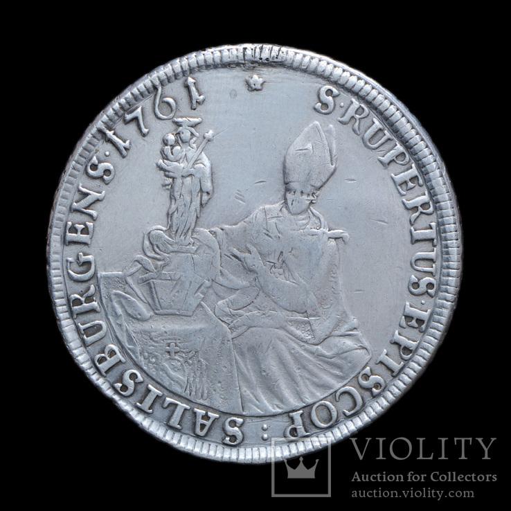 Талер 1761 Сигизмудн III, Архиепископство Зальцбург