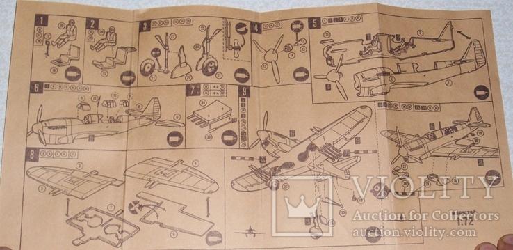 Сборная модель самолёта Файерфлай ФР-1, фото №3
