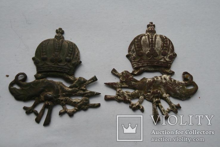 Пара австро-венгерських петлиць кулиметника періоду пмв.