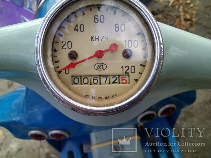 Мотороллер Турист СССР 600 км. (не прошел обкатку), фото №13
