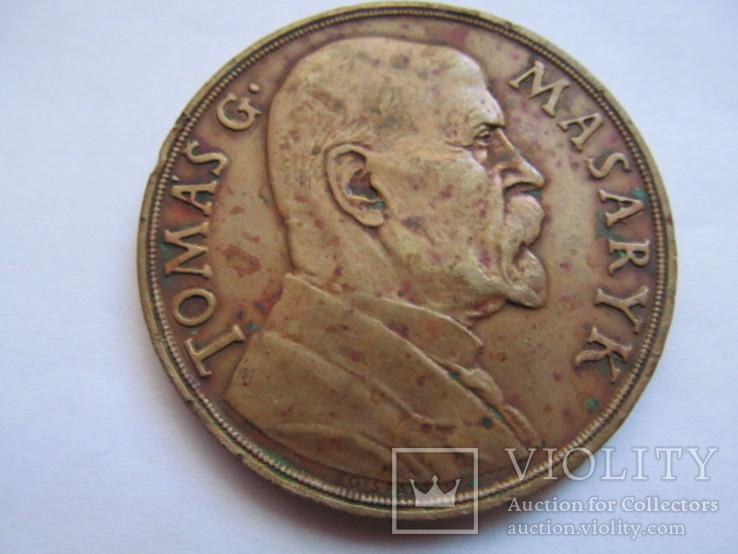 Чехословакия    медаль  Т. Масарык  1935  год
