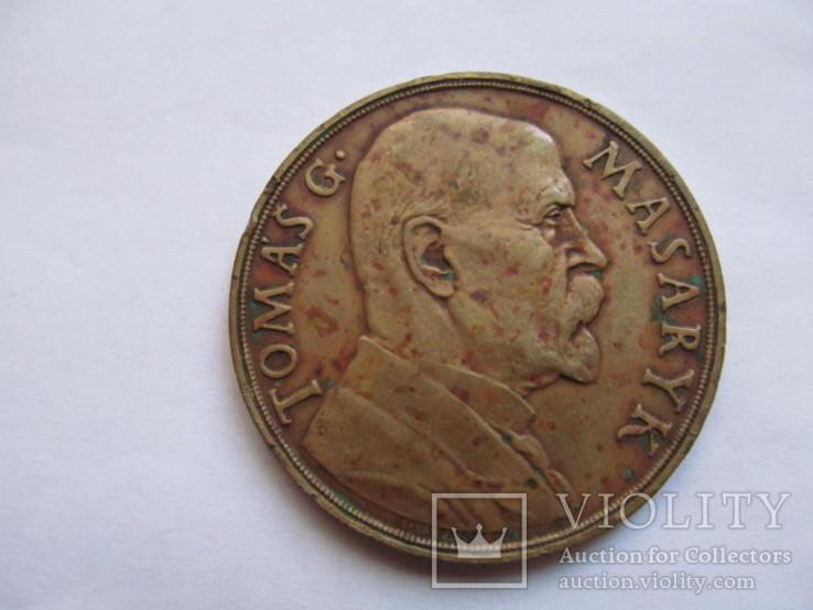 Чехословакия    медаль  Т. Масарык  1935  год, фото №4