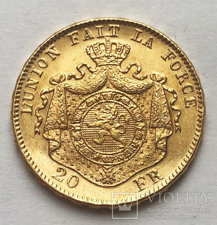 20 франков 1882 года. aUNC., фото №2