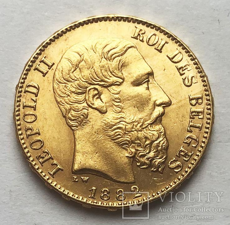 20 франков 1882 года. aUNC., фото №3