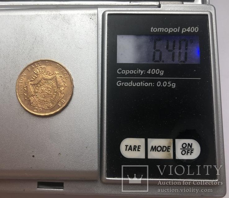 20 франков 1882 года. aUNC., фото №5