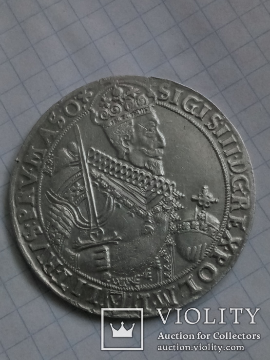 Талер 1630 Сигизмунд |||,  R1