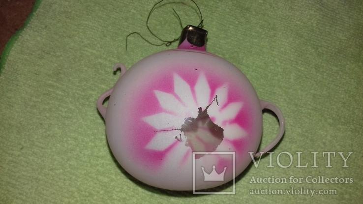 Елочная игрушка чайник, фото №5