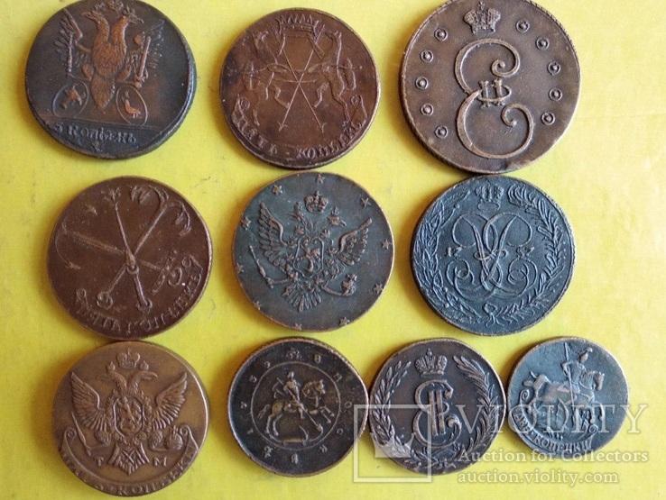 Копії царських монет, 10 шт., фото №5