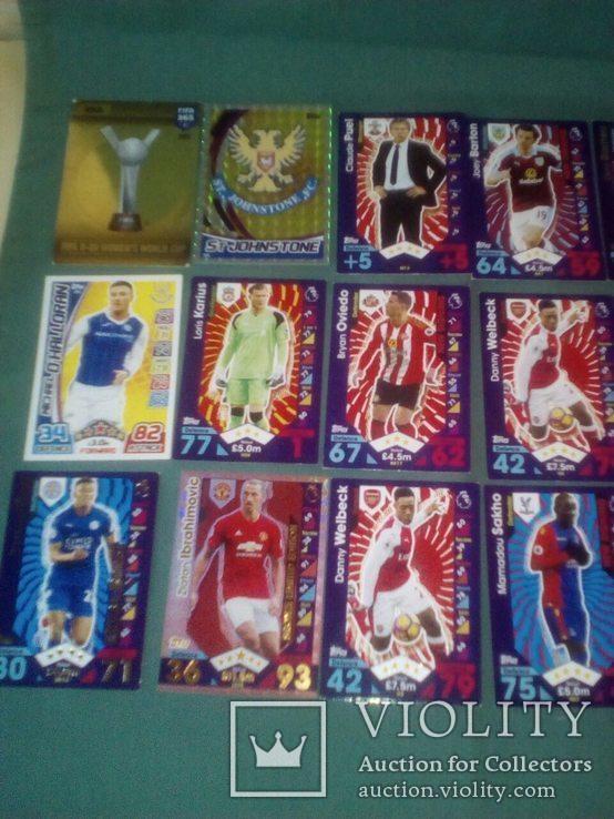 Футбольные карточки, фото №3