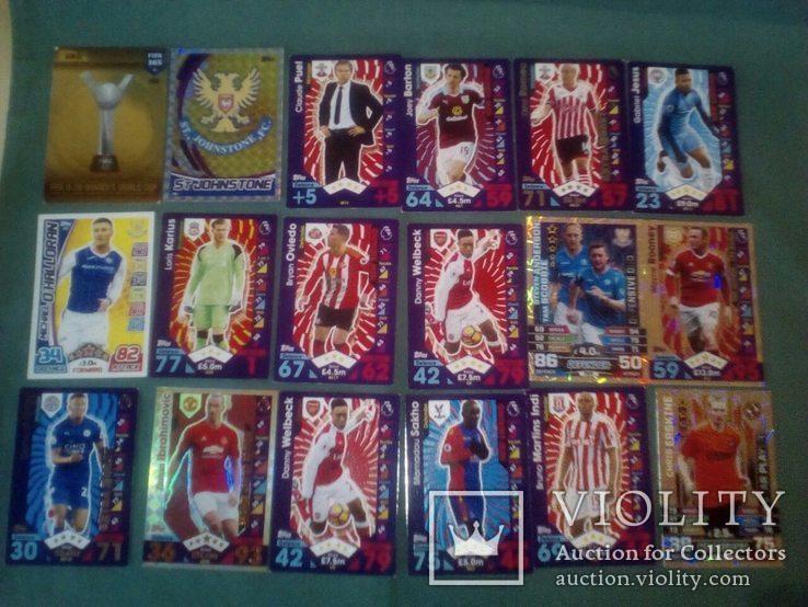 Футбольные карточки, фото №4