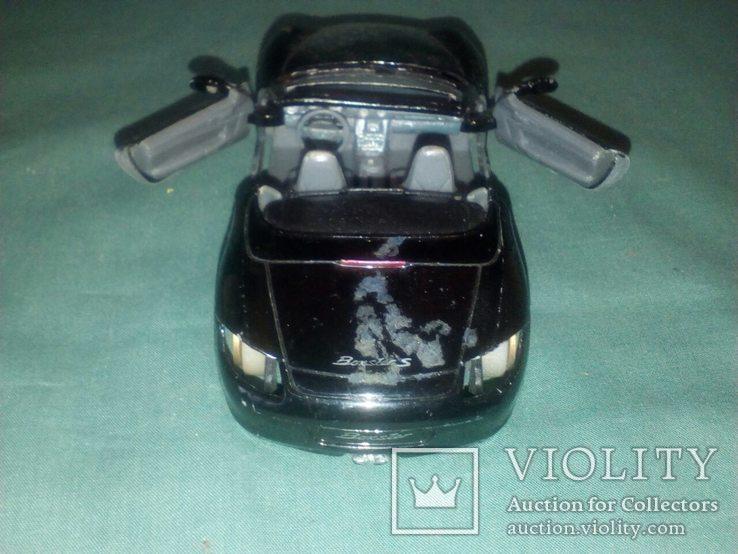 Масштабная модель авто Porshe Boxster S1/34, фото №5