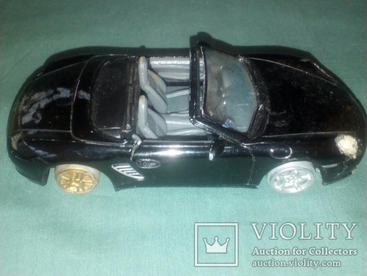 Масштабная модель авто Porshe Boxster S1/34, фото №7