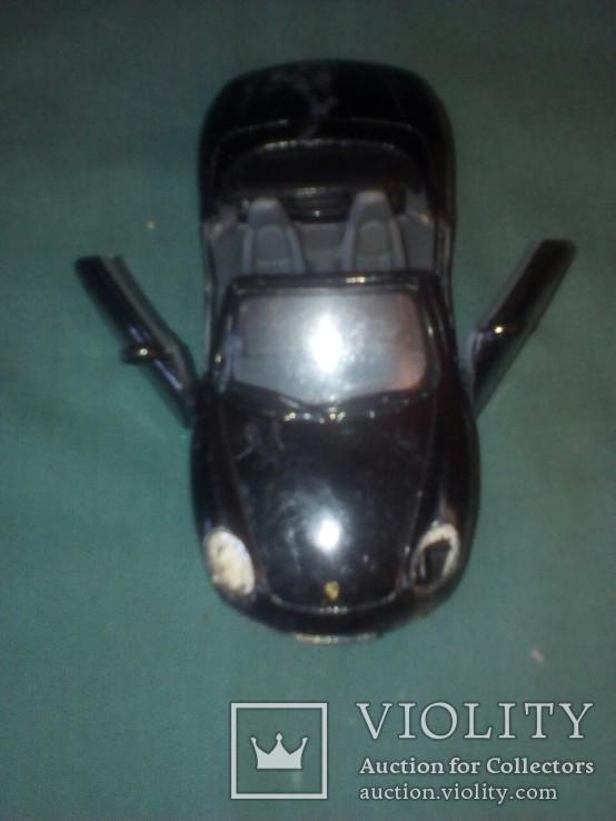 Масштабная модель авто Porshe Boxster S1/34, фото №8