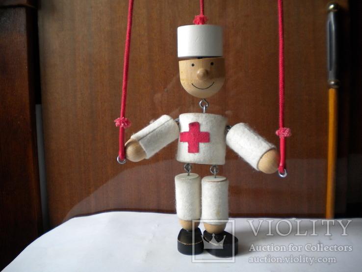Іграшка лялька медик, фото №2