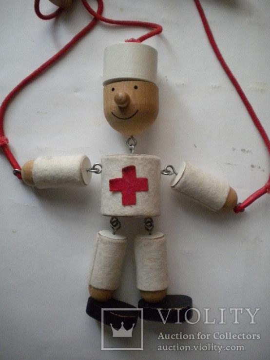 Іграшка лялька медик, фото №7