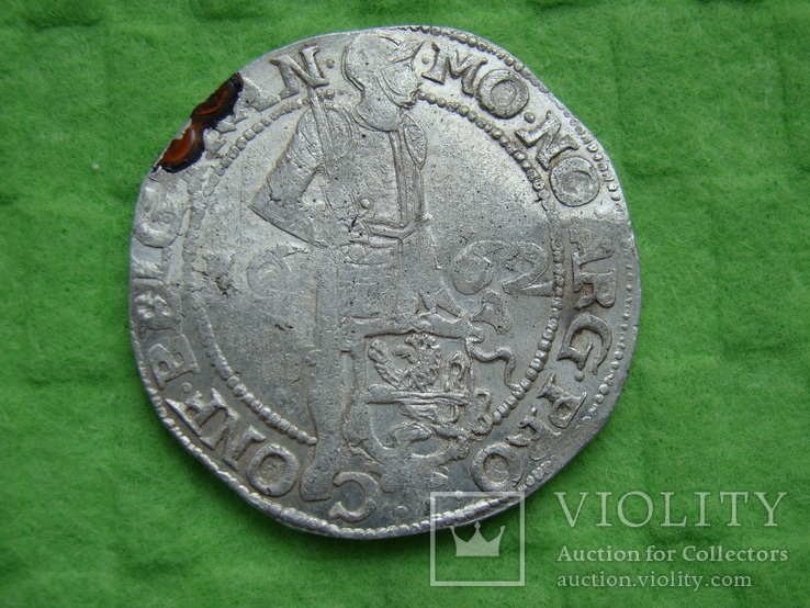 Сильвердукат 1662 год Оверейсл