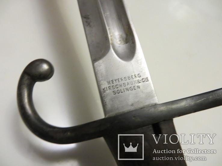 Штик-ніж до рушниці Маузера зразка 1891 року Аргентина, фото №10
