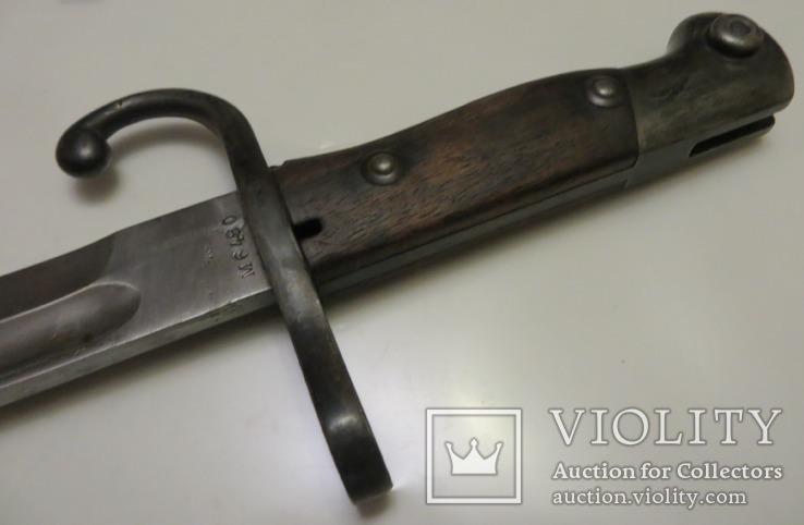 Штик-ніж до рушниці Маузера зразка 1891 року Аргентина, фото №13