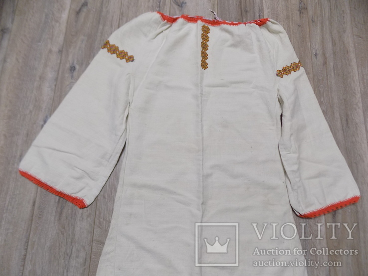 Гуцульська полотняна сорочка, фото №2