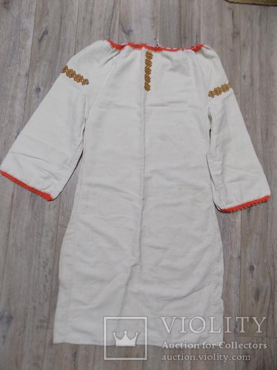 Гуцульська полотняна сорочка, фото №4